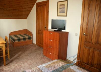 Kambarių nuoma Šventojoje – kambariai mansardoje